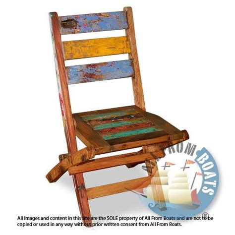 boat garden furniture garden chair made from reclaimed boat timber nautical