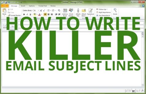 how to write killer email subject lines camilla pecetto