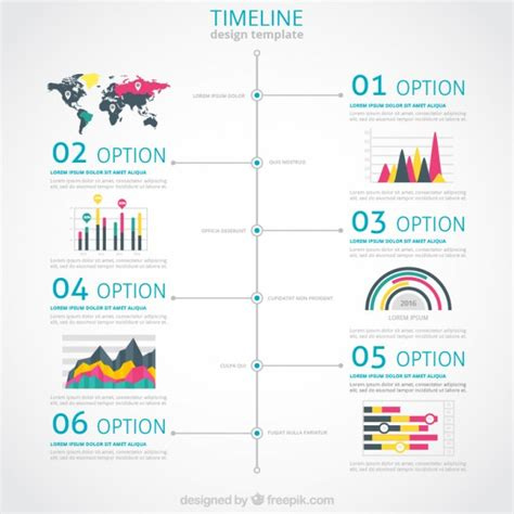 free infographic 187 free infographic timeline template