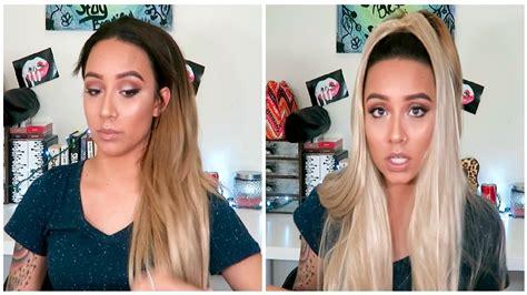first impression bellami jet black hair extensions youtube unboxing first impressions on bellami hair extensions