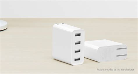 Charger Xiaomi 4 Port Usb 2a Ere Fast Charging 18 66 authentic xiaomi mi cdq01zm 4 port usb charger 35w 2 4a max output fast charge