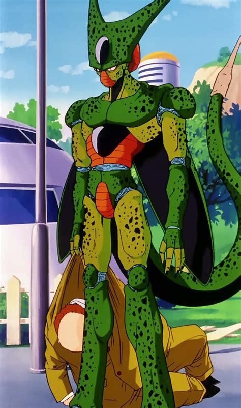 dbz cell imperfect more dbz pics http www imperfect cell vs meta cooler