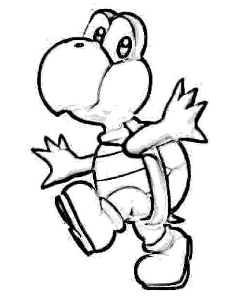 Mario 9 Coloring Pages by Free Printable Yoshi Coloring Pages For