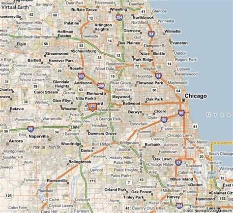 map of chicago suburbs chicago area map suburbs