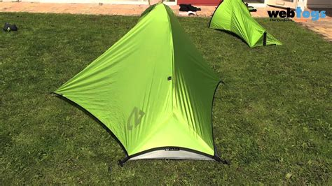Tenda Range Ultraligh Tent the all new nemo tent range for 2011 new gogo alti obi tents