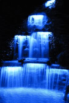blue waterfall images  messages