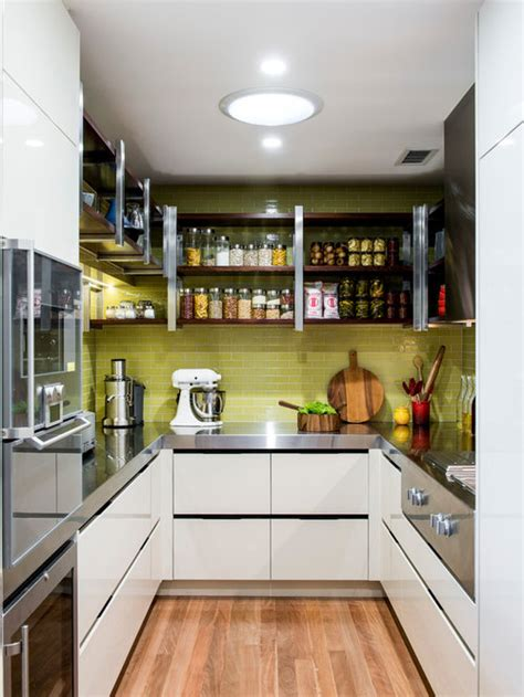 small  shaped kitchen design ideas renovations