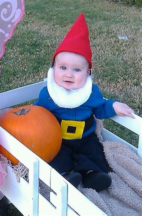 Garden Gnome Baby Costume by Baby Gnome Costume