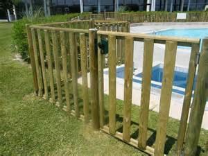 cloture piscine en bois cl 244 ture et grillage norme cl 244 ture bois piscine
