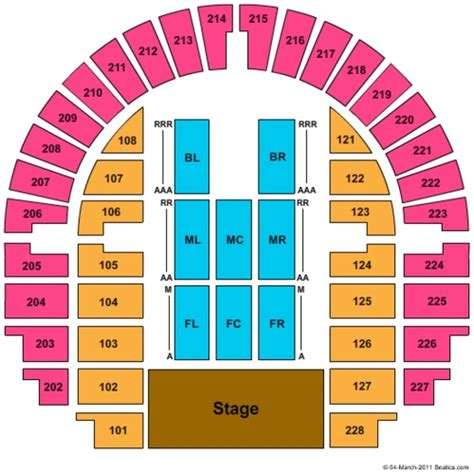bell center seating chart bell county expo center tickets seating charts and