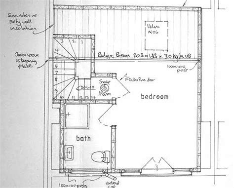 terraced house loft conversion floor plan 25 best ideas about loft conversion plans on pinterest terraced house loft