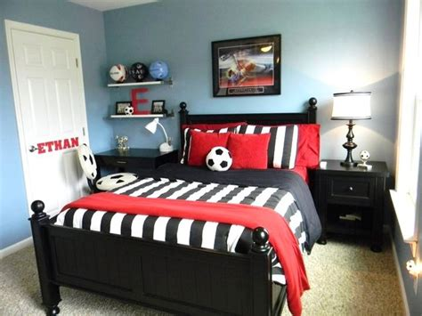 soccer themed bedroom boy s soccer room contemporary kids richmond by