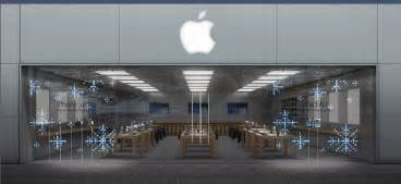apple store apple stores to celebrate holidays with spectacular led window displays todaysiphone com