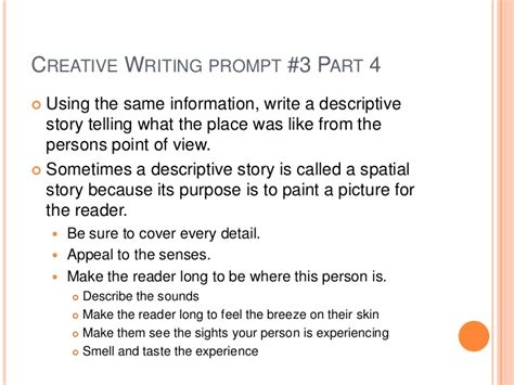 Creative Writing Essay Topics by Creative Writing Topics For Year 8