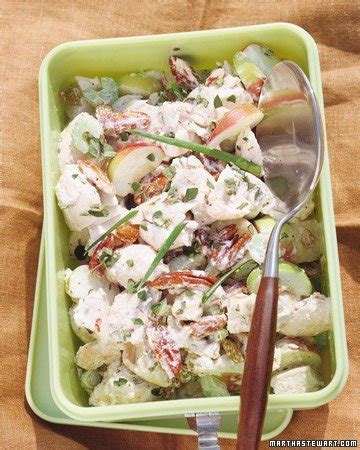 chicken salad recipes martha stewart roasted chicken salad recipe from martha stewart living