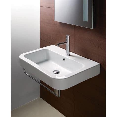 wall hung bathroom sinks gsi 693211 bathroom sink traccia nameek s