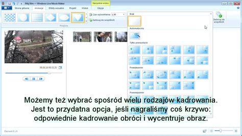 tutorial windows live movie maker 2011 windows live movie maker tutorial pl część 2 youtube