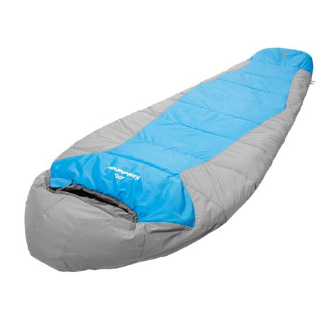 Sleeper Bags by Odyssey Mummy Insulated Sleeping Bag Blue Grey