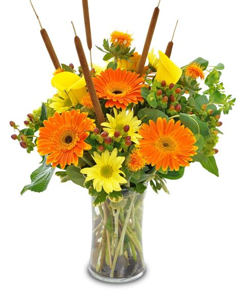 Fall Vase Arrangements by Allen S Flower Market