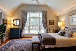 Light Gray Is The Traditional Color Of Cape Cod Style Charming Cape Cod Renovation Traditional Bedroom New