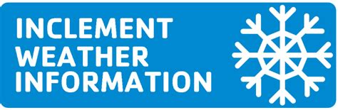inclement weather policy template usd342 inclement weather information