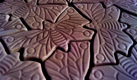 Cement Decorative Molds by Decorative Concrete Paver Molds Quot Butterfly Quot Ebay