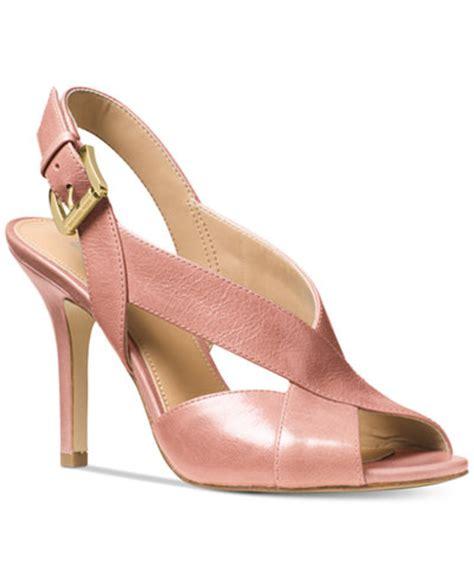 michael kors sandals macys michael michael kors becky sandals sandals shoes macy s