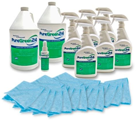 puregreen disinfectant institutional package