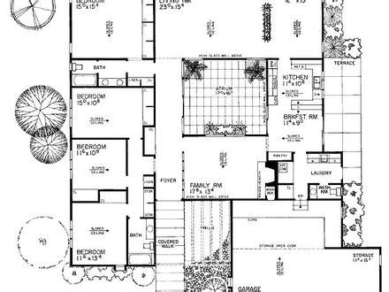 eichler homes floor plans eichler homes in california