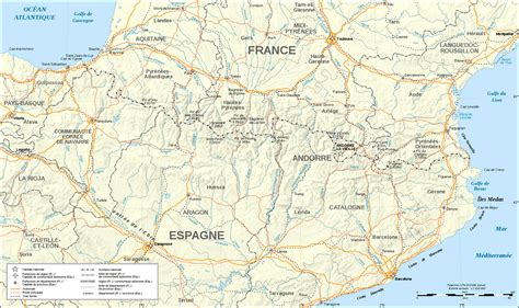 pyrenees mountains map spain pyrenees mountains on a map images