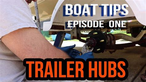 boat trailer wheel hub removal how to replace wheel hub on boat trailer youtube