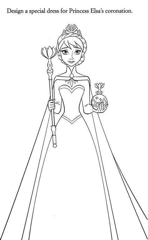 coloring pages disney elsa 183 best images about coloring pages on pinterest