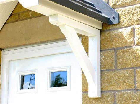 Synthetic Corbels Pair Of Recycled Plastic Porch Gallows Brackets