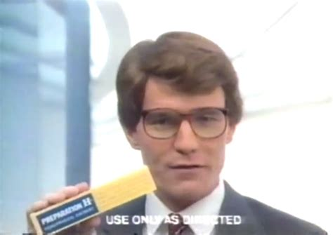 bryan cranston college bryan cranston was in an 80s preparation h commercial