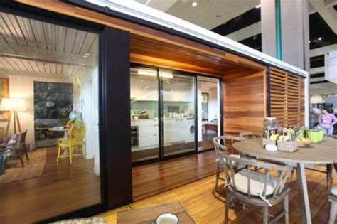 ecokit s modular prefab cabins are sustainable and arrive connect homes 2 0 is a contemporary customizable and