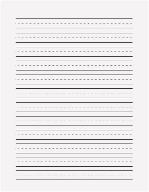 blank primary writing paper blank handwriting paper white gold