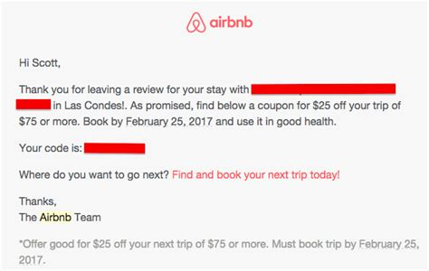 airbnb kupon 2017 trick 25 airbnb coupon if you just hold off on reviewing