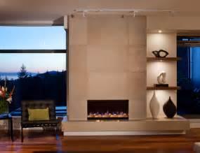 concrete fireplace tiles contemporary calgary
