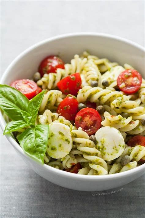 pasta salad ideas caprese pasta salad is one of the easiest suggestions here