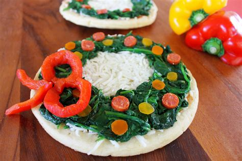 christmas pizza wreath pizza growing up bilingual