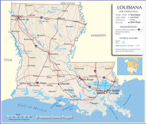map of texas and louisiana border major land water features louisiana