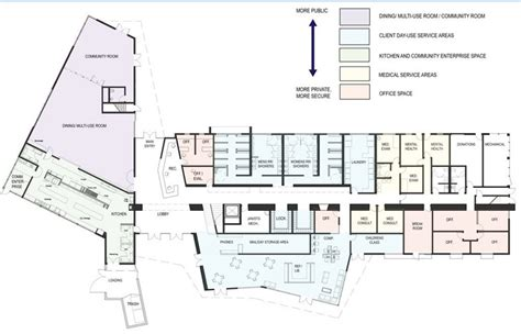 design brief of an emergency shelter design for homeless shelter in san luis obispo awarded