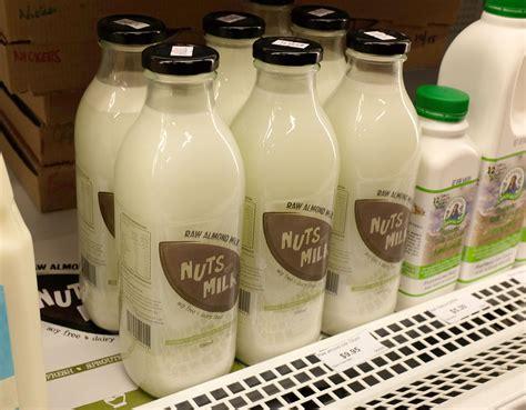 Almond Rawalmond Milk going nuts milk zinc moon