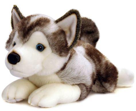 husky puppy toys keel soft cuddly husky puppy 35cm stuffed animal teddy ebay