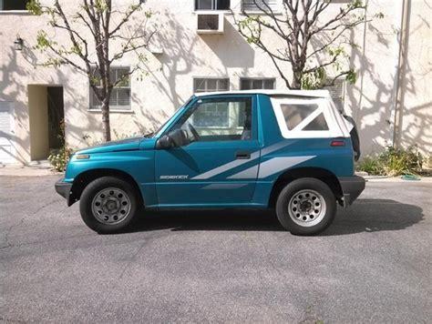 Suzuki Sidekick Convertible 1995 Suzuki Sidekick Pictures Cargurus