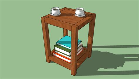 build a simple desk build wooden end table plans simple plans download fine