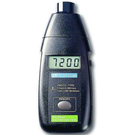 Lutron Dt 2234bl Laser Photo Non Contact Tachometer Alat Ukur Rotasi alat ukur putaran roda putaran mesin meter digital