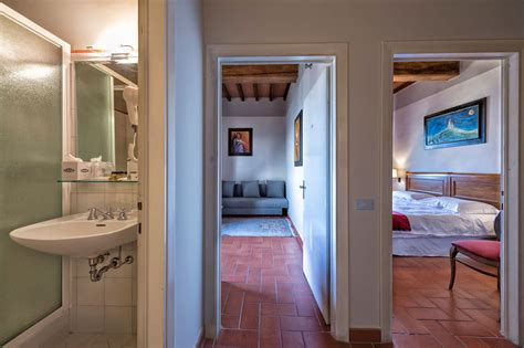 adjacent rooms 2 adjacent rooms with view 4 pax hotel miravalle san miniato