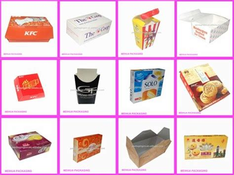 How To Make Post Box With Chart Paper - 6 best images of paper products for food fast food paper