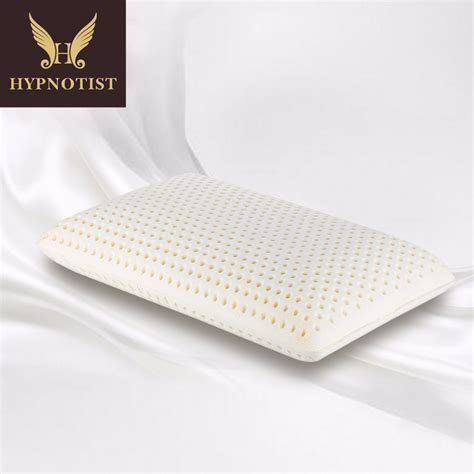 latex foam bed pillows hypnotist talalay natural latex pillow with 100